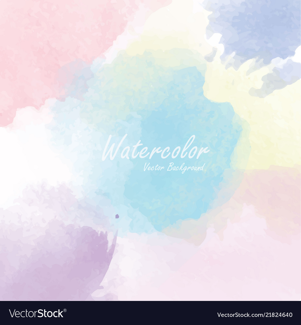 Abstract watercolor background template