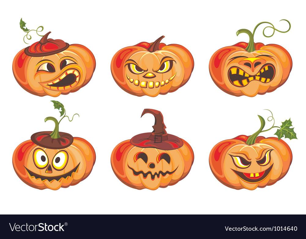 Frightful halloween pumpkin