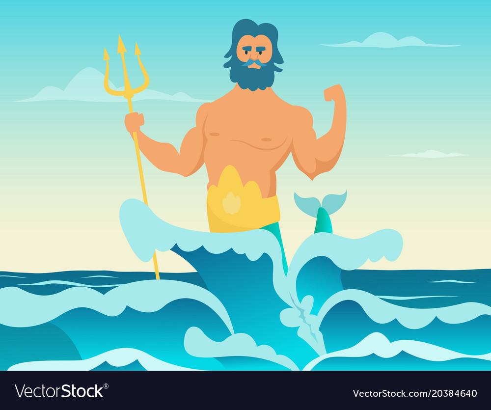 Poseidon Greek God Of The Sea