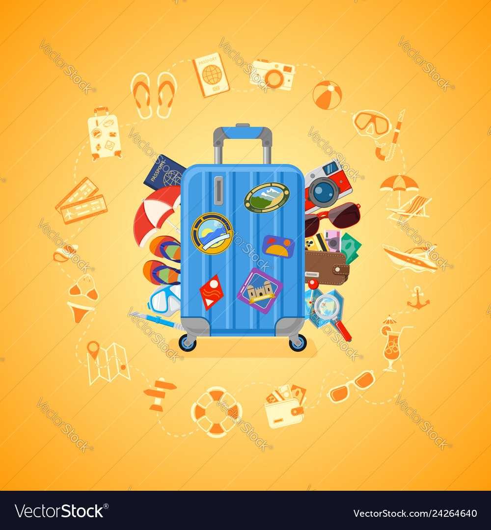 Vacation travel and summer concept