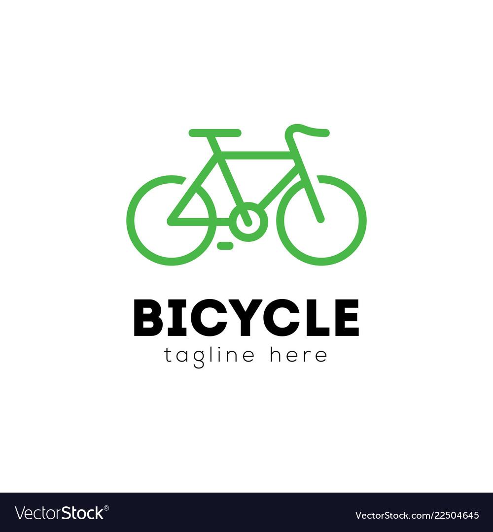 Bicycle logo emblem design