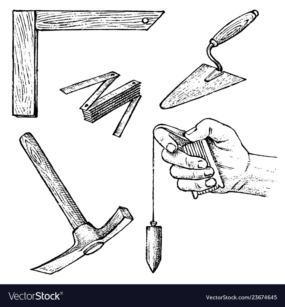 Work tools for construction and repair of