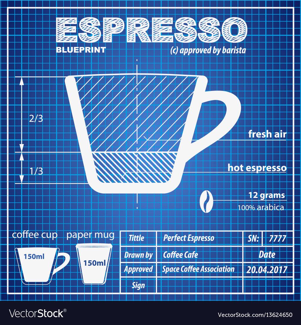 Coffee espresso composition and making scheme
