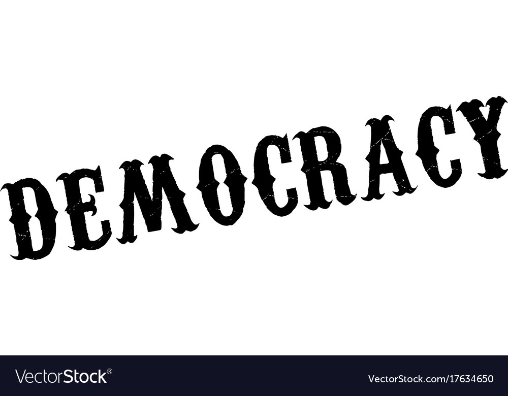 Democracy rubber stamp