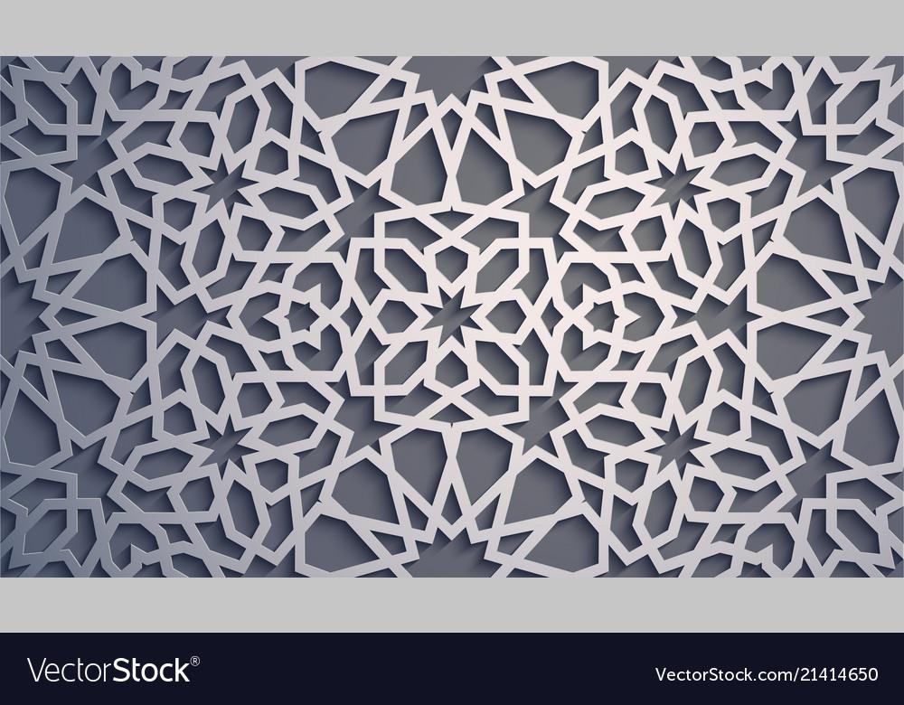 Purple background islamic ornament