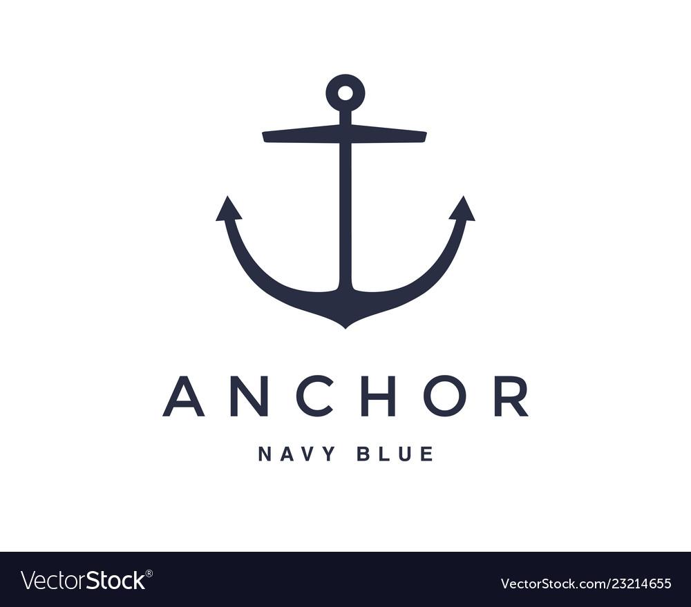 Anchor emblem design