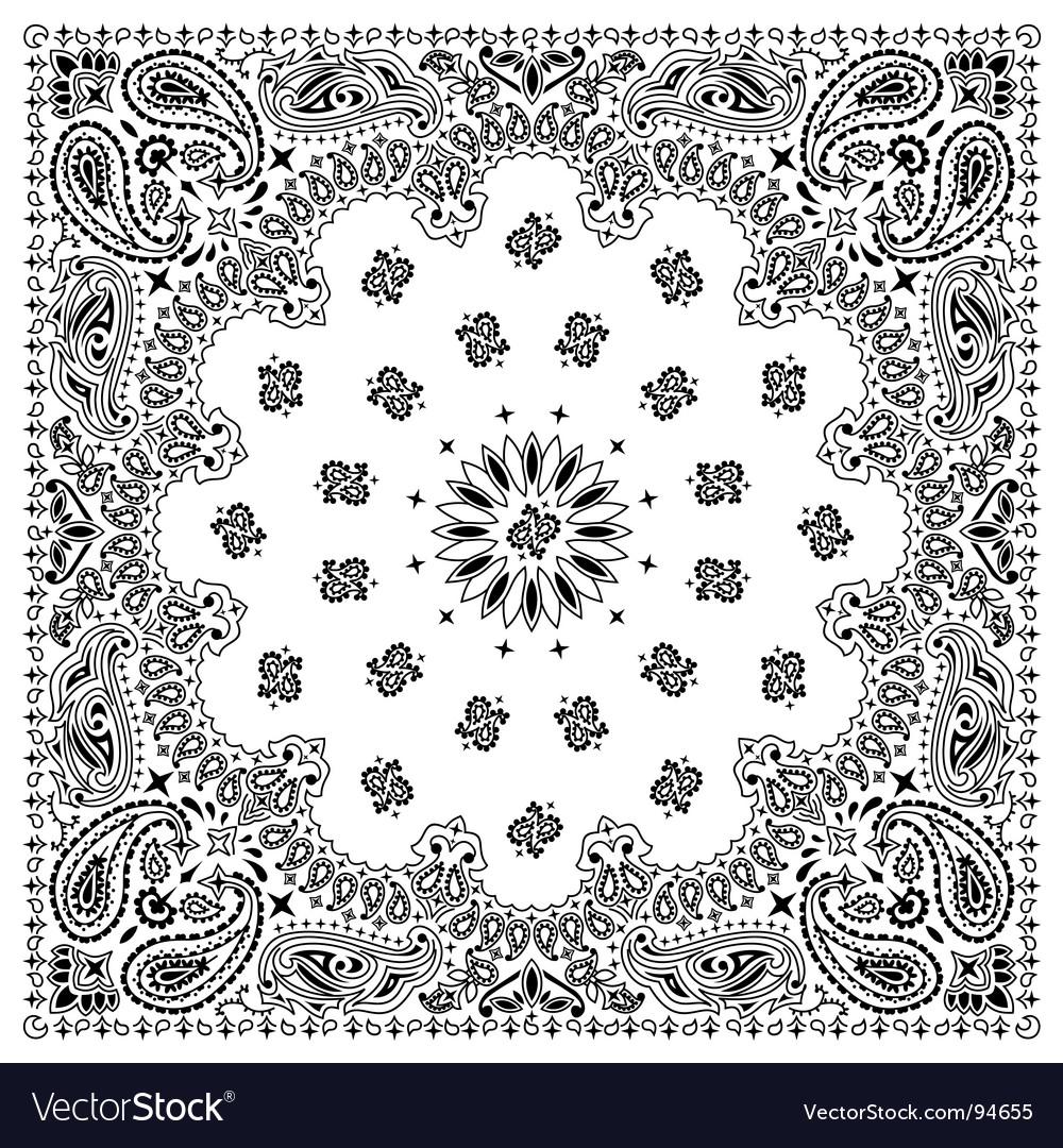 bandana royalty free vector image vectorstock rh vectorstock com vector bandana bandana vector free download