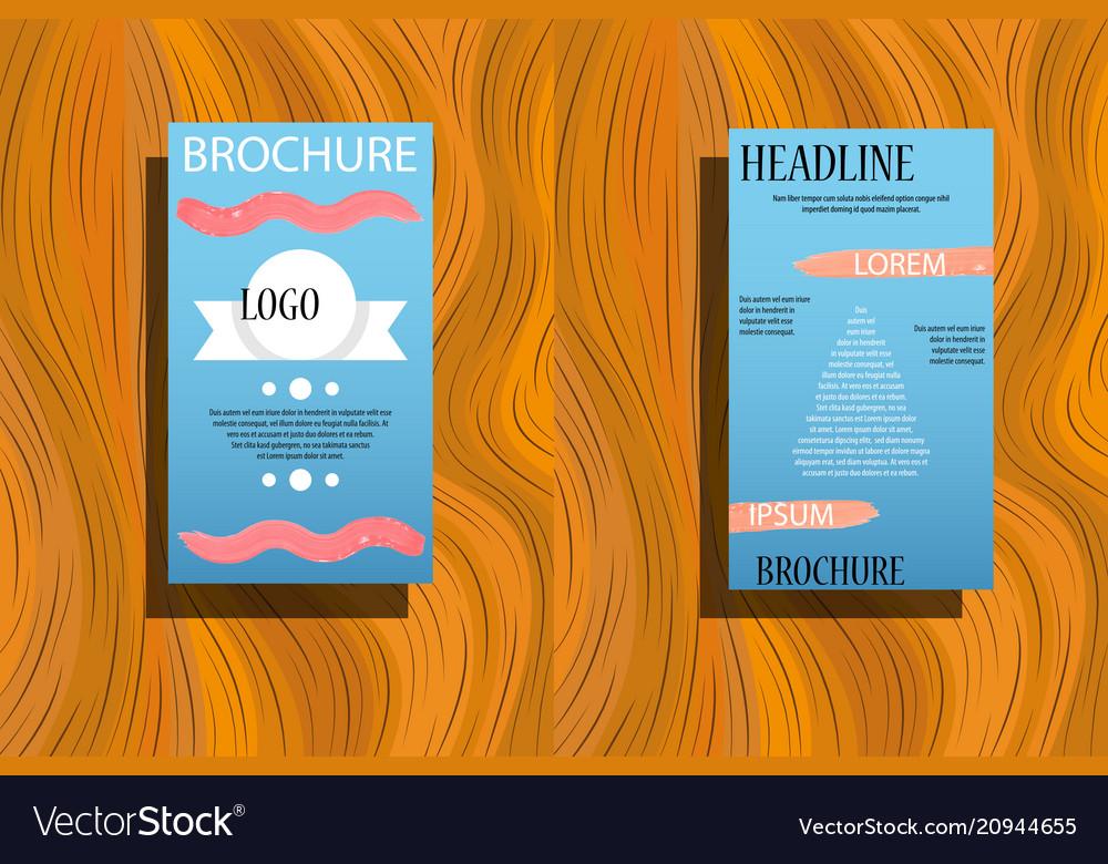 Element for slide infographic on background
