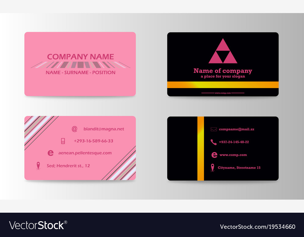 Business card ideas for designers and web design
