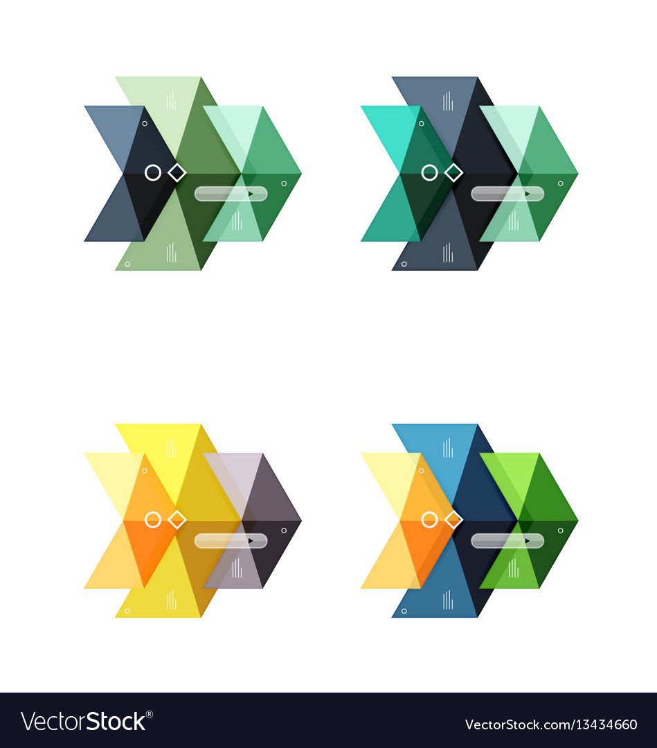 Colorful business infographic template or vector image