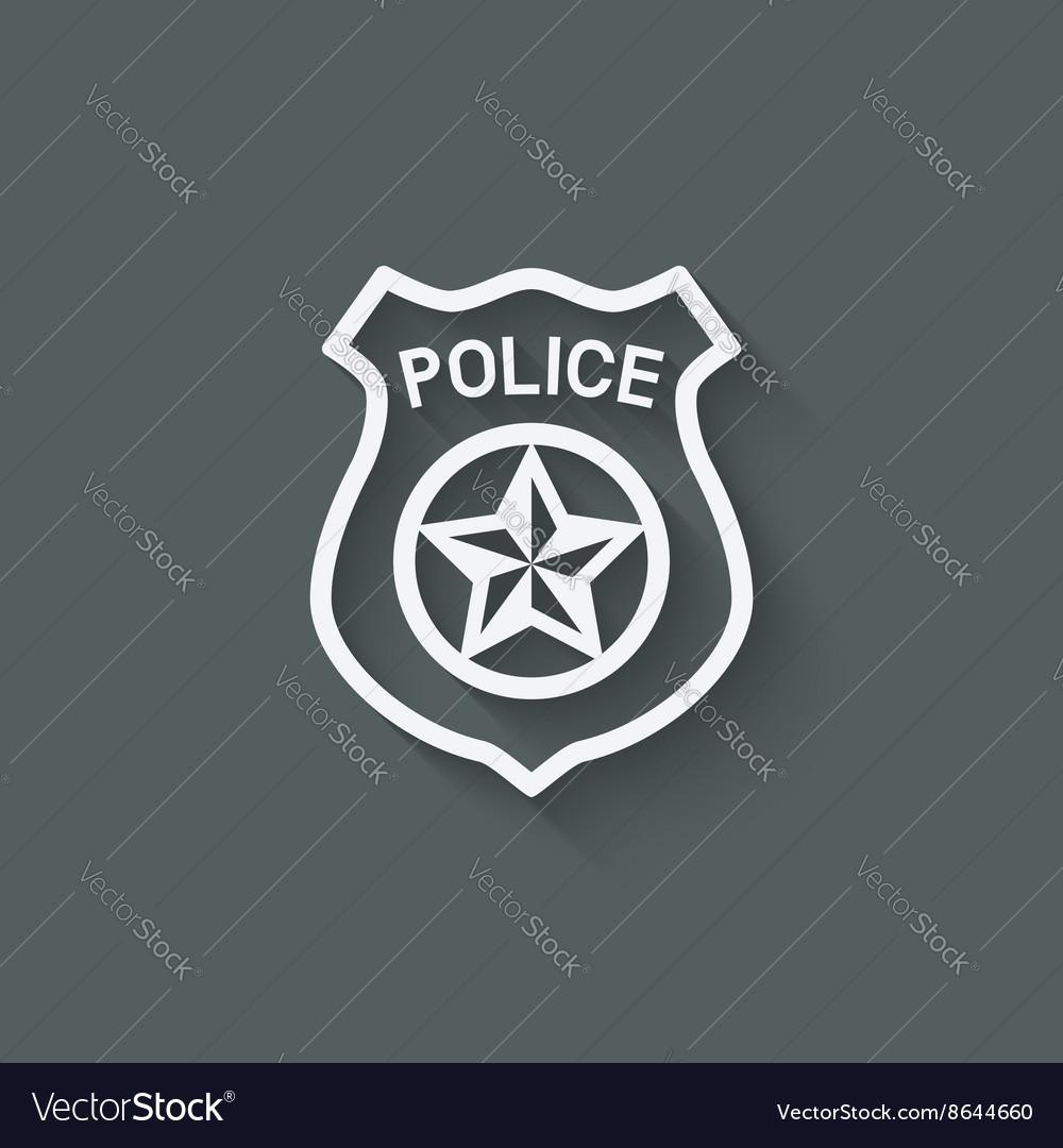 Police badge symbol