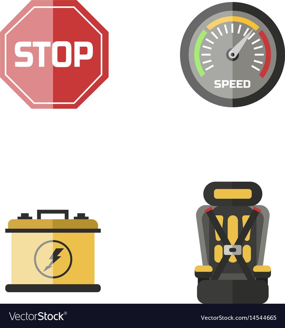 Auto transport motorist icon symbol vehicle