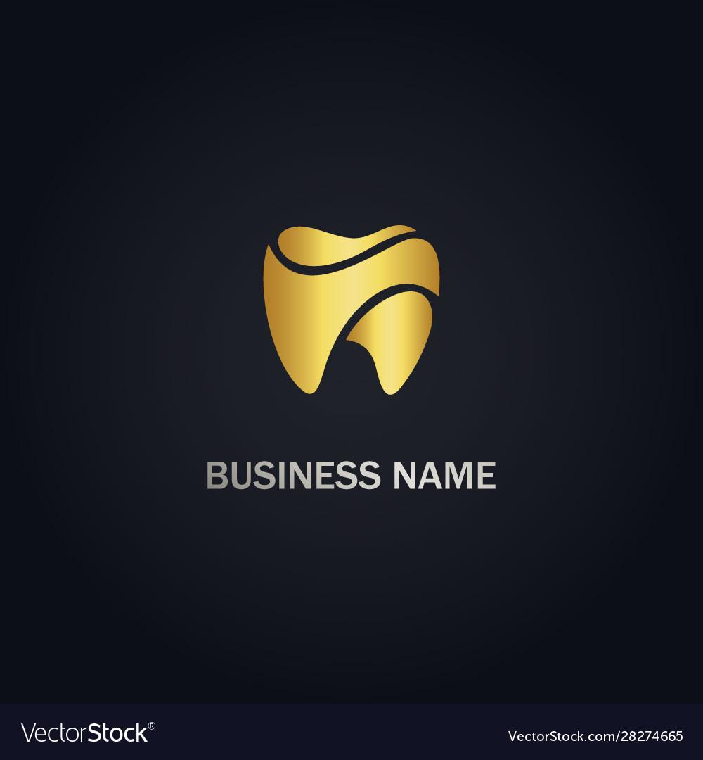 Dental tooth healthcare logo