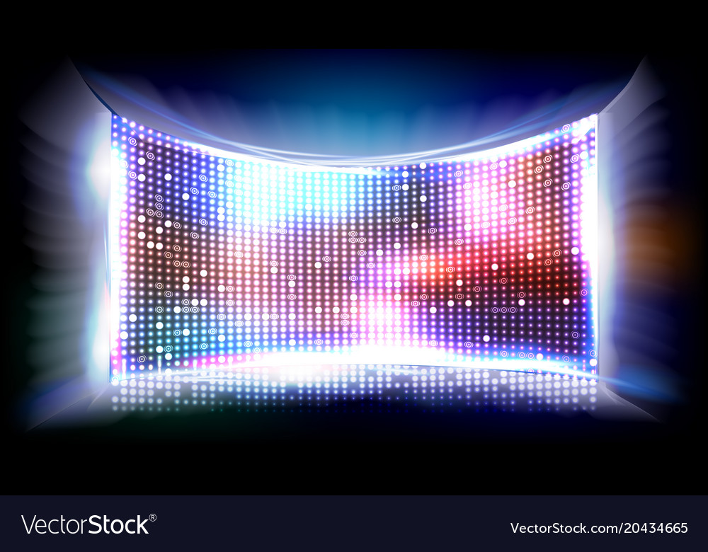 Screen led bright monitor club disco