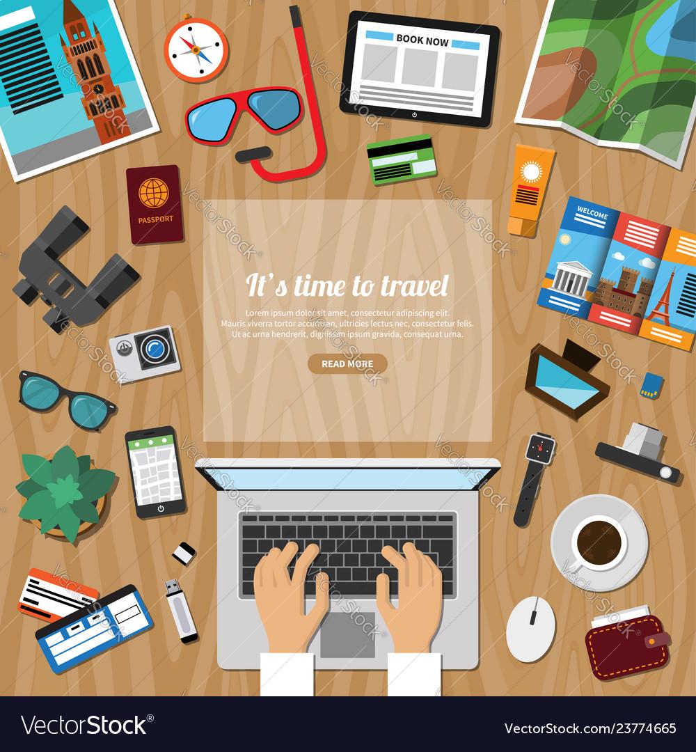 Travel tourism summer vacation planning