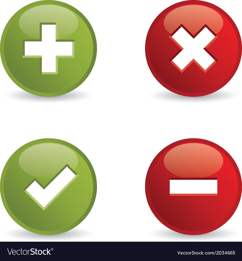 Validation icons