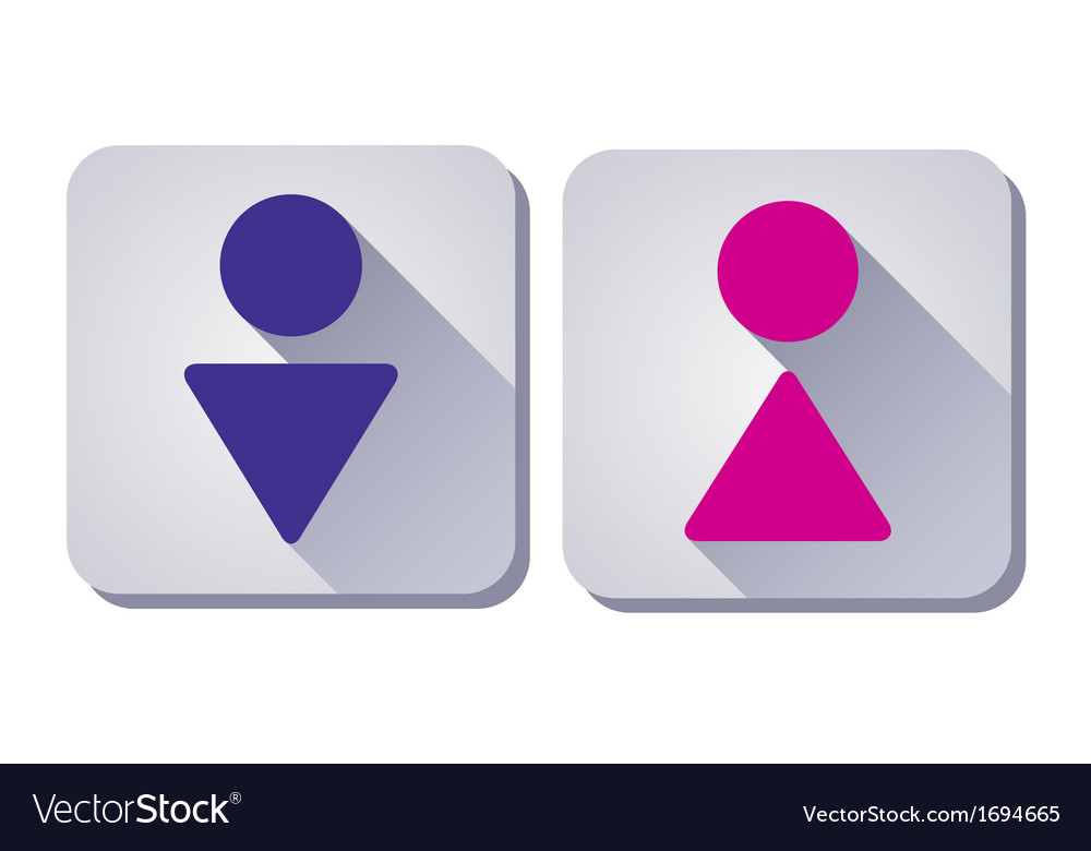 WC Sign man and woman