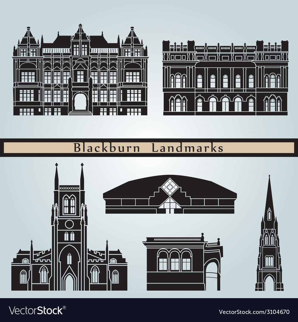 Blackburn landmarks and monuments
