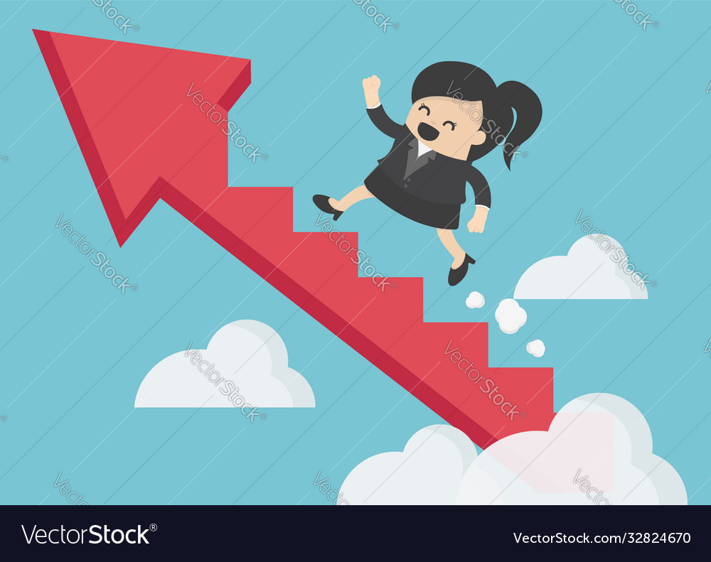 Businesswoman finance success marketing business