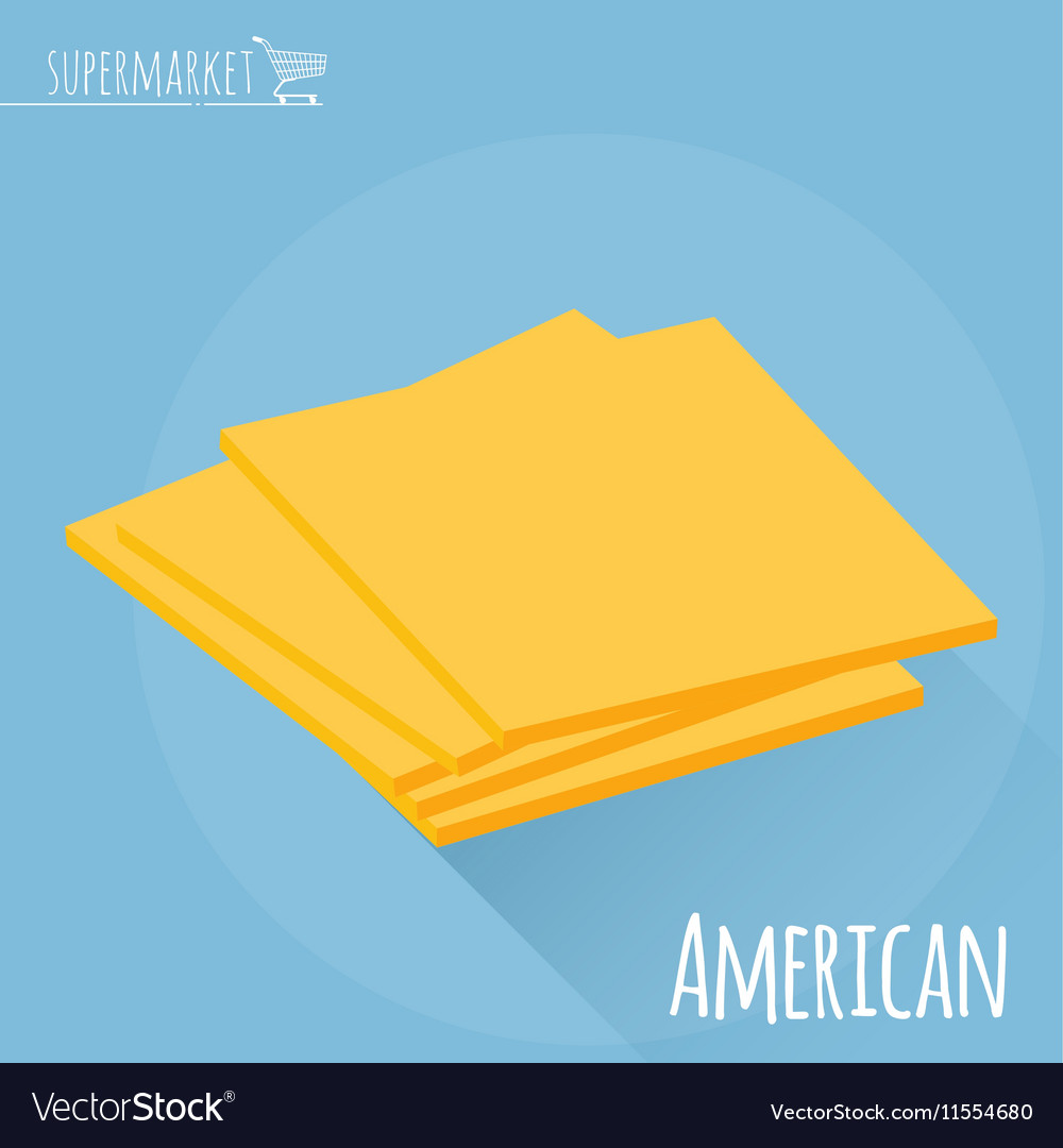 American cheese icon