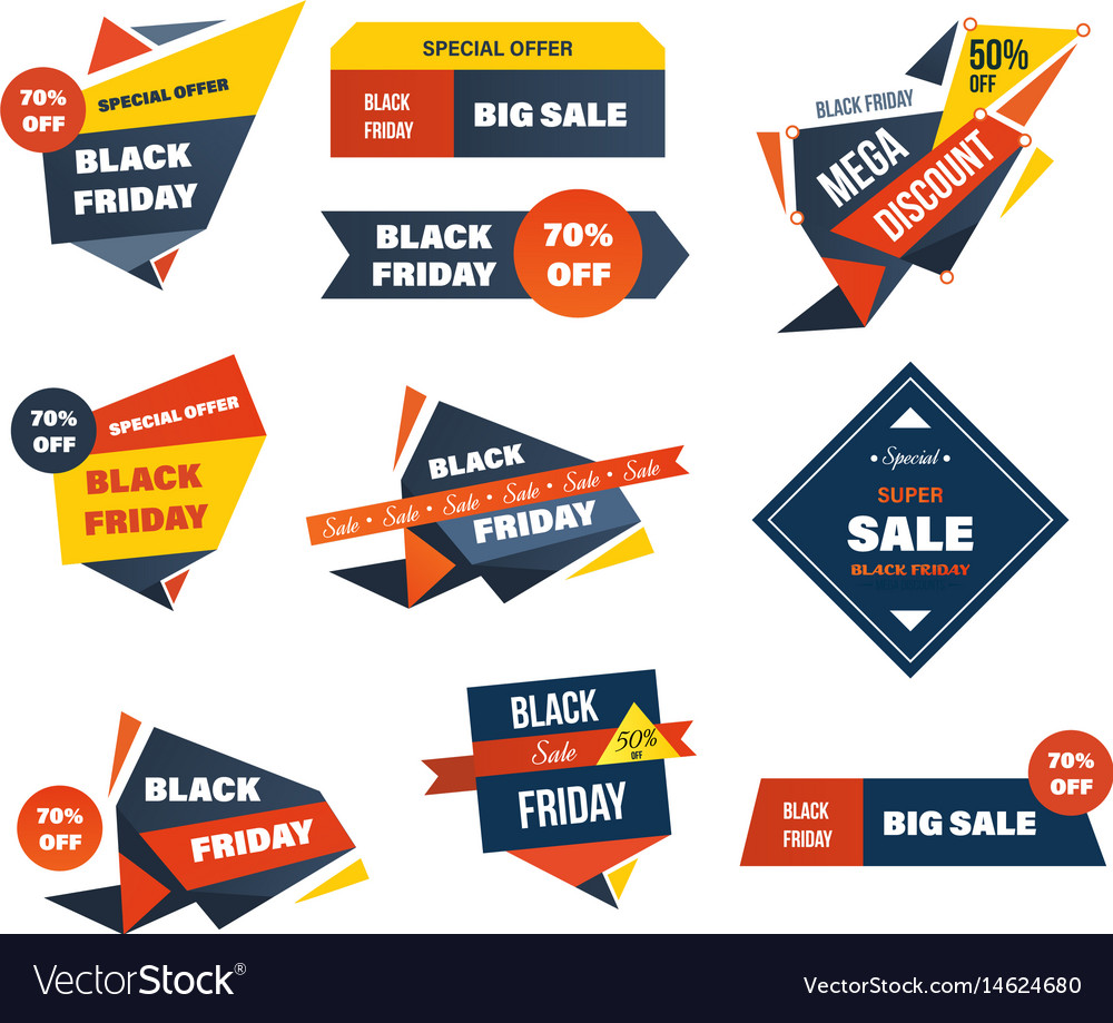 Black friday discount special offers on shopping