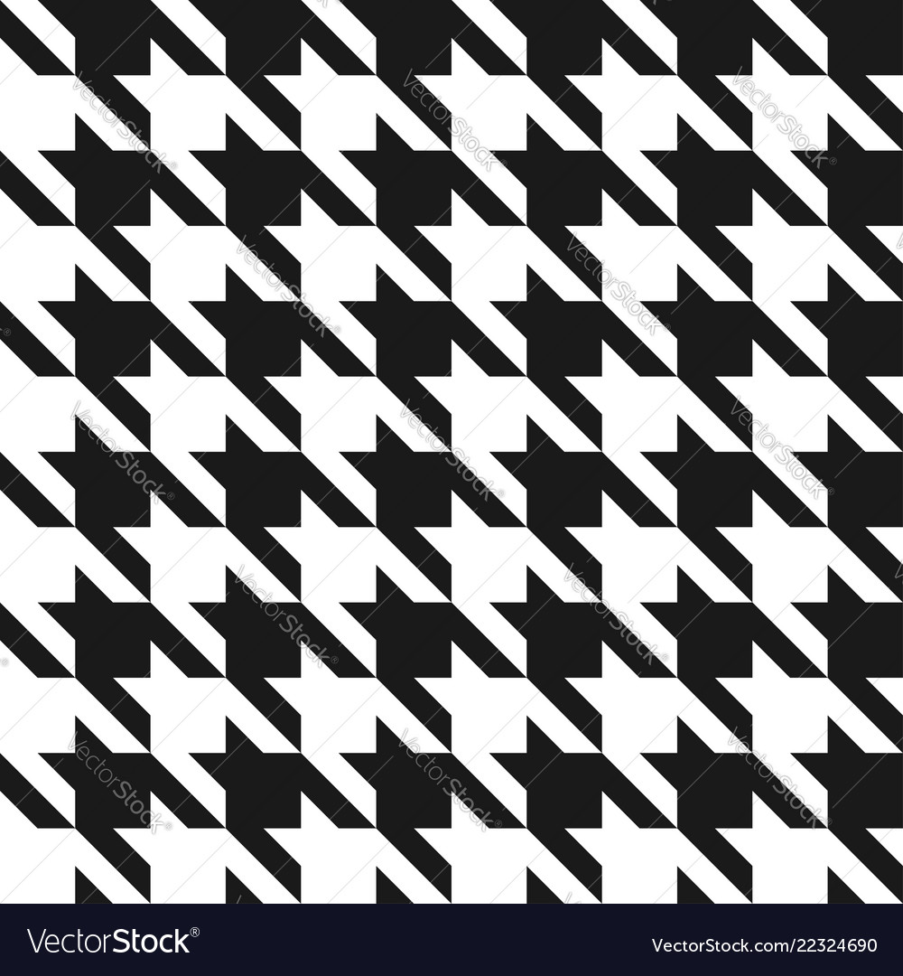 Houndstooth seamless pattern vintage houndstooth