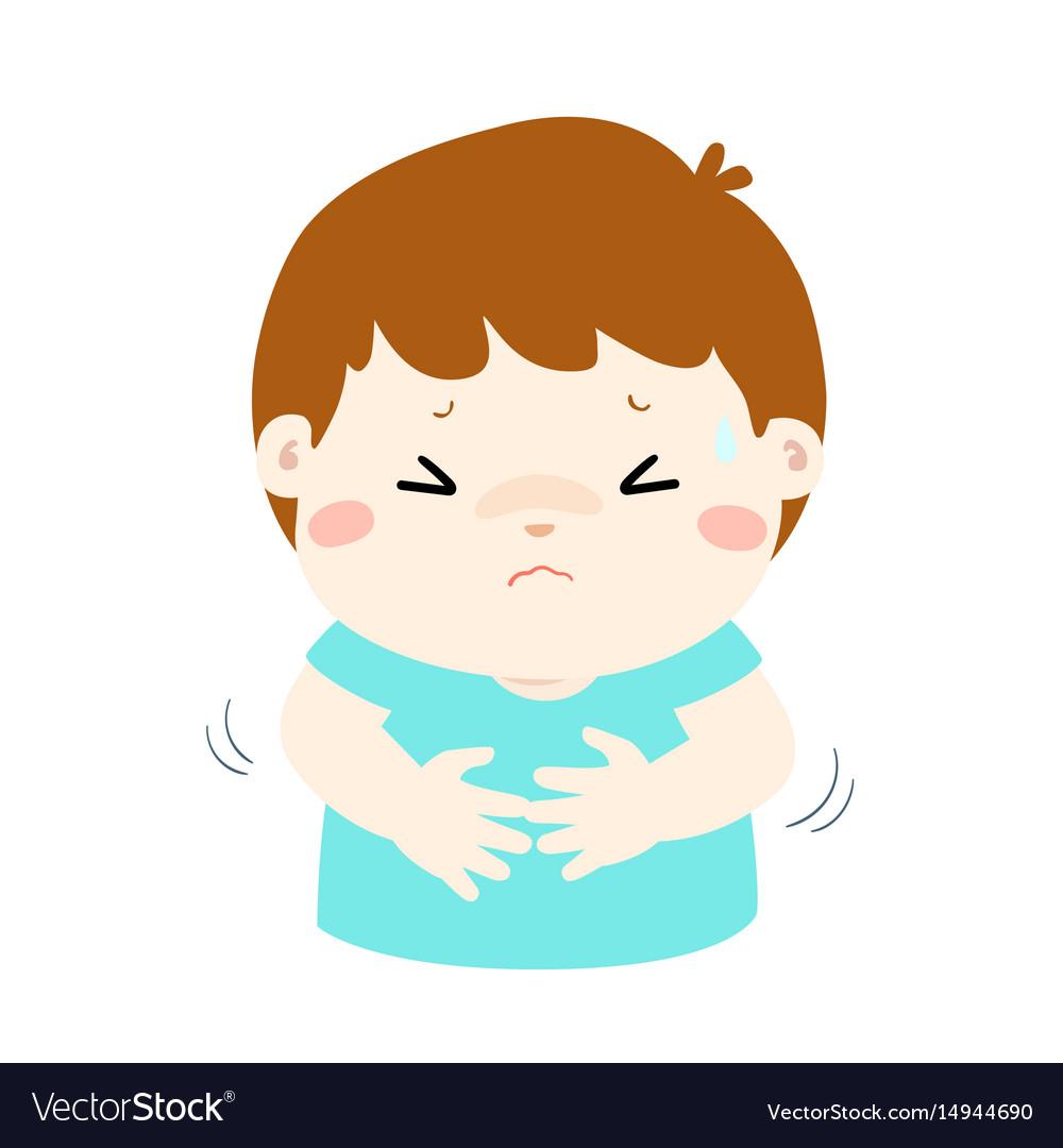 Stomach Pain Cartoon