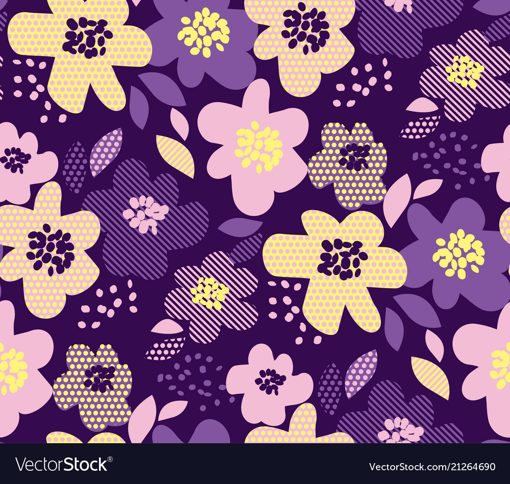 Luxury floral seamless pattern