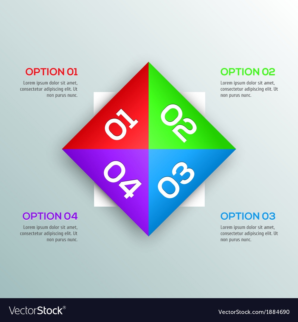 Modern design template for your infographic