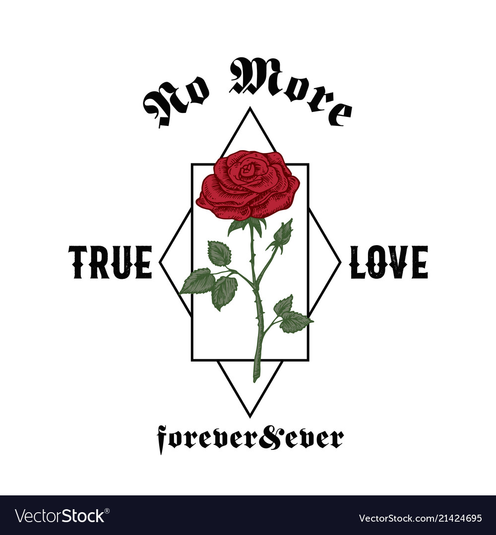 No more true love forever and ever abstract