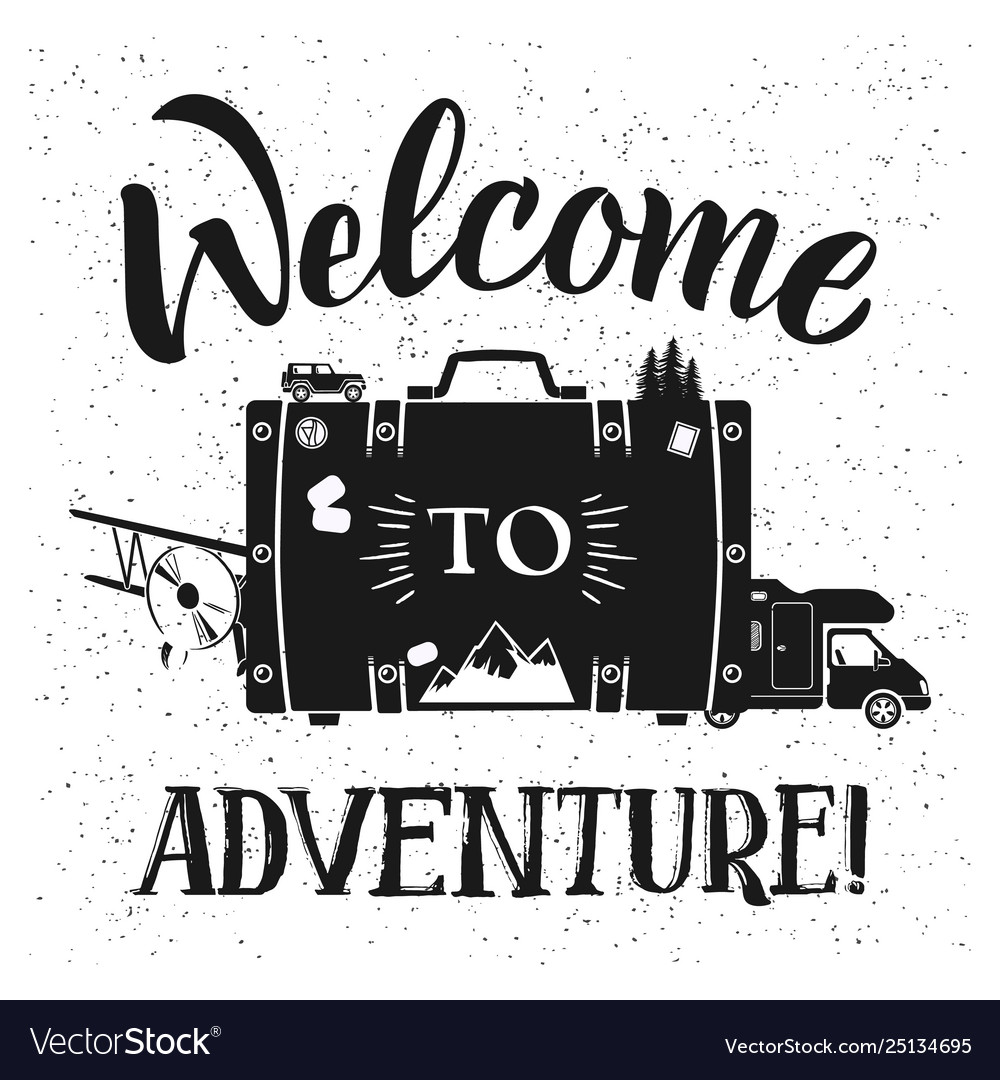 Welcome to adventure poster design with