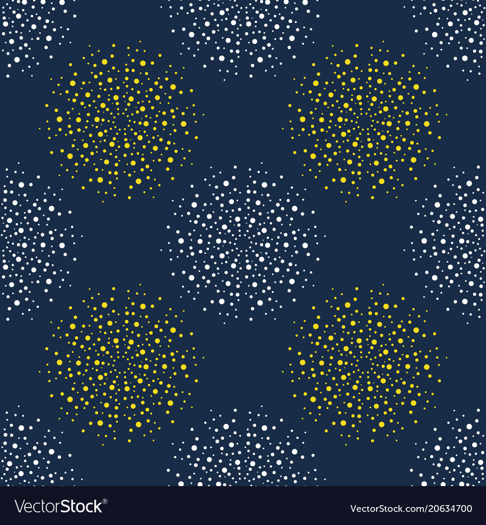 Abstract firework pattern