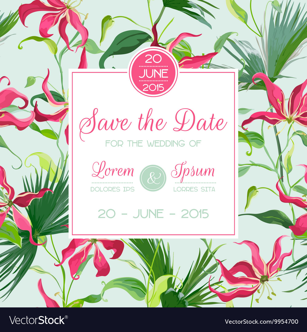 Invitation Congratulation Card - for Wedding