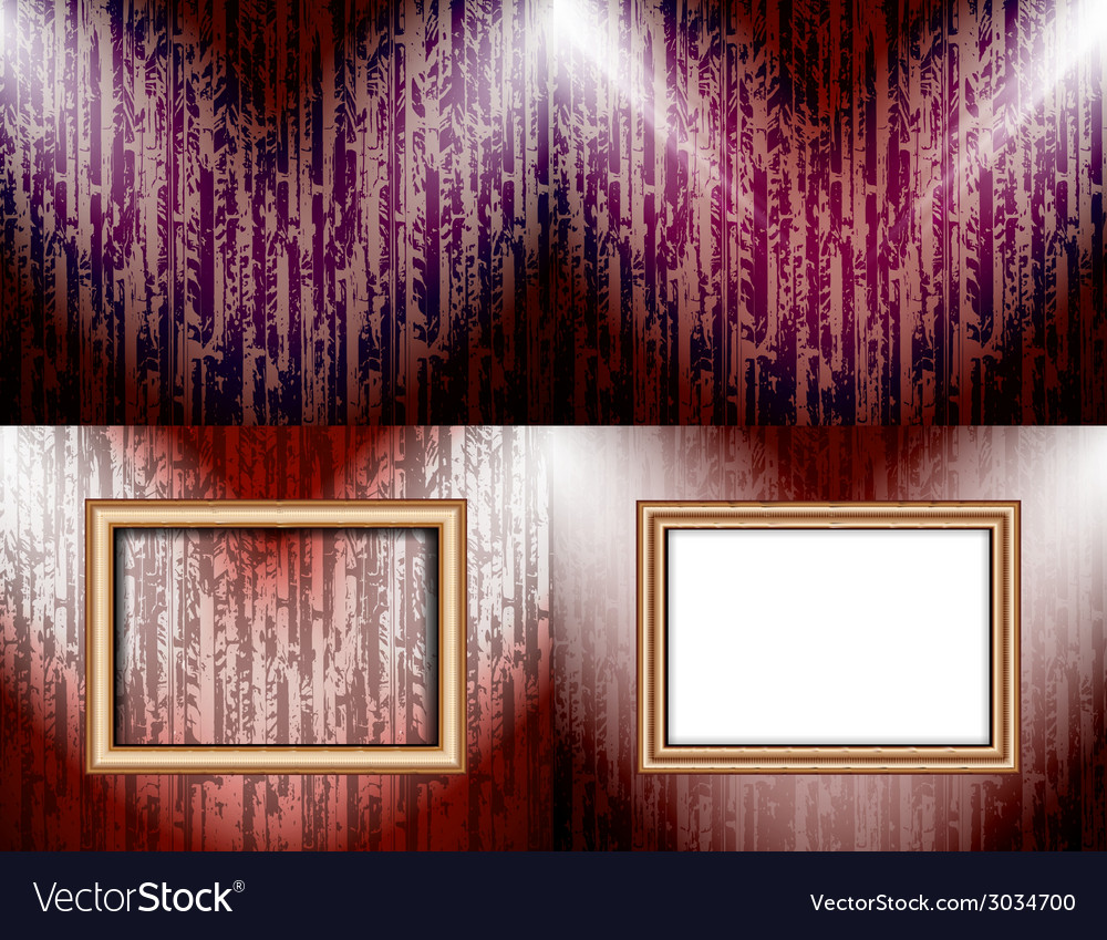 Set of Background with frames and spotlights