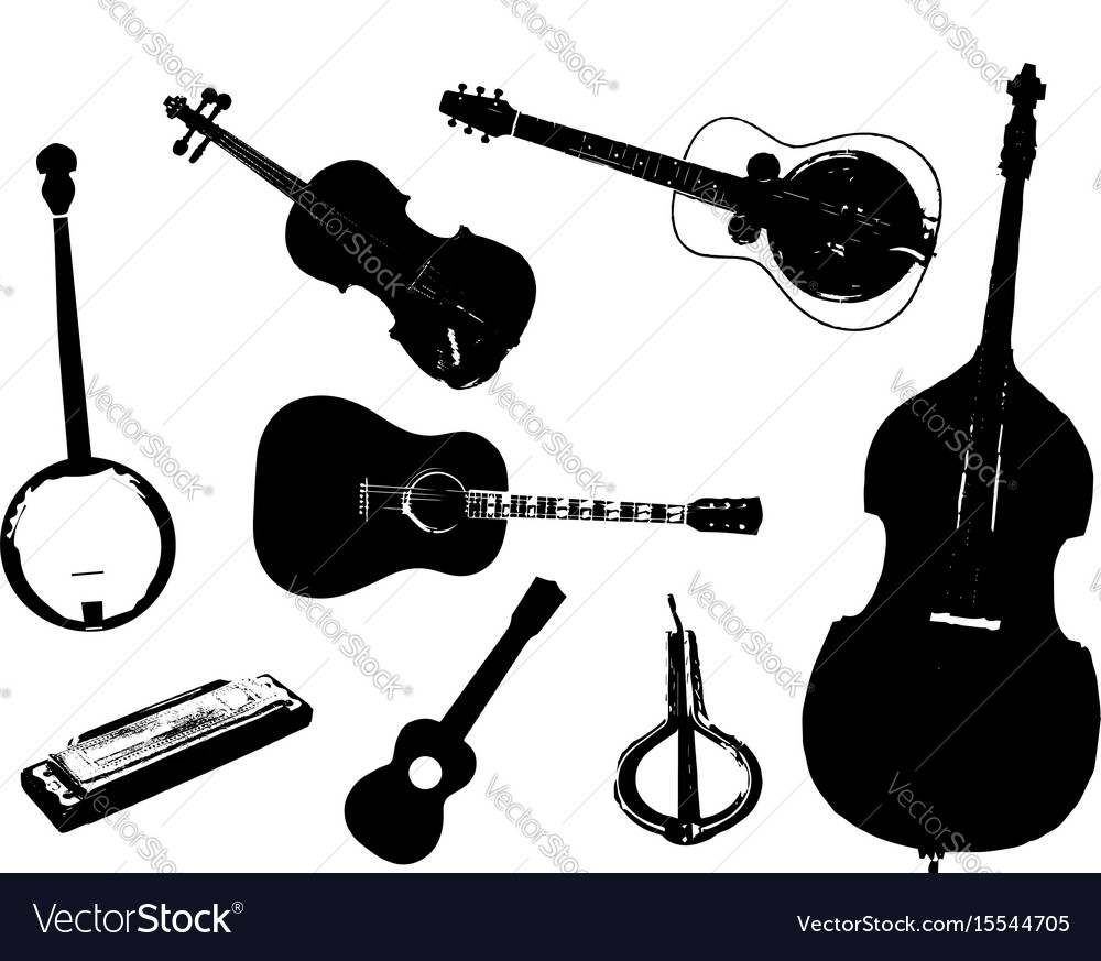 Bluegrass vector image