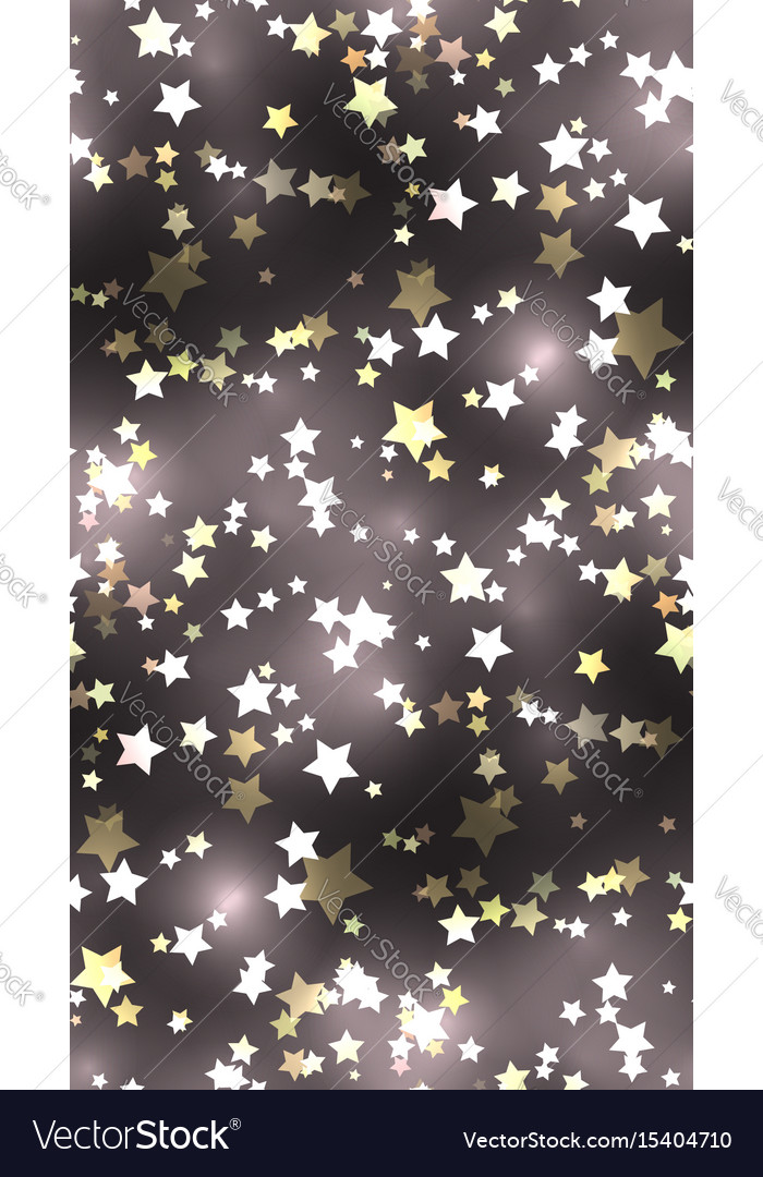Seamless texture with stars and sparks
