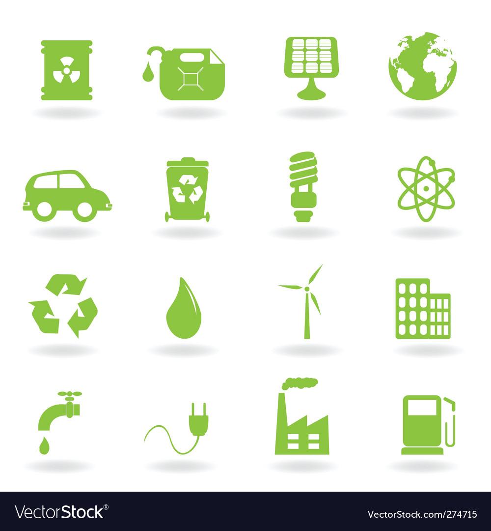 Ecofriendly icons