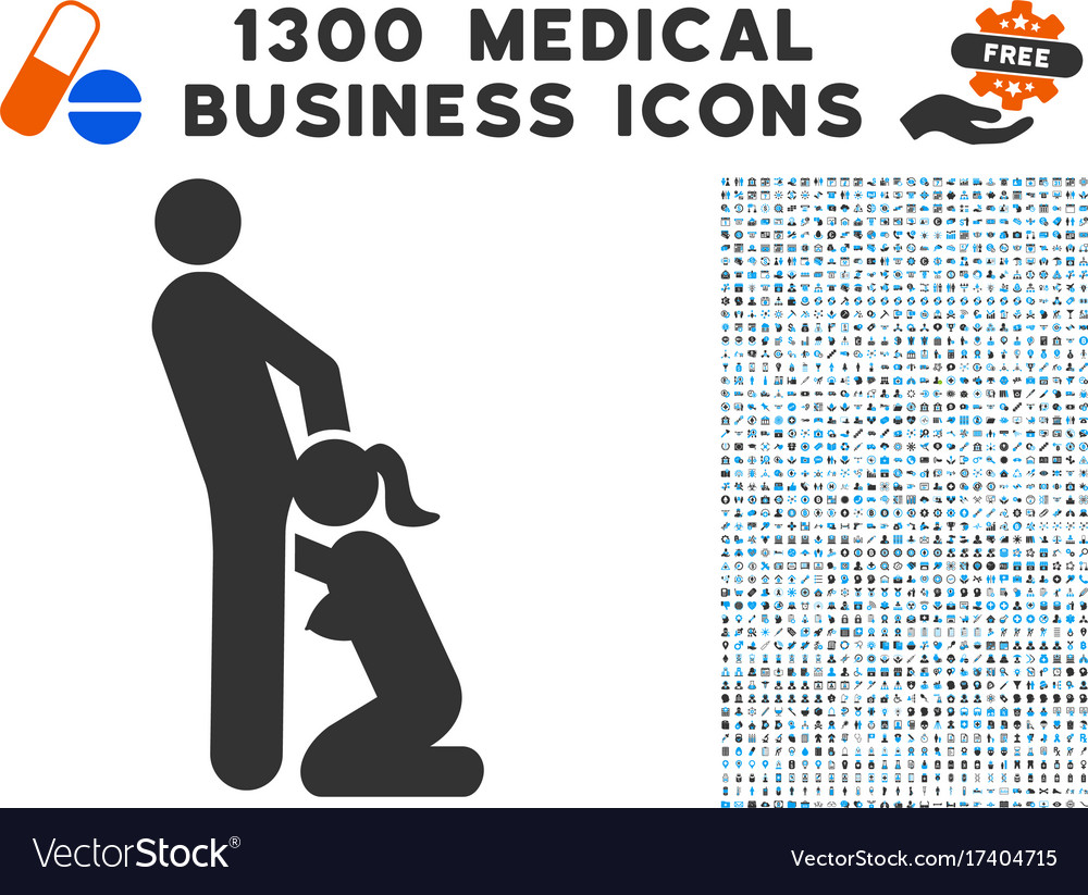 Oral sex persons icon with 1300 medical business