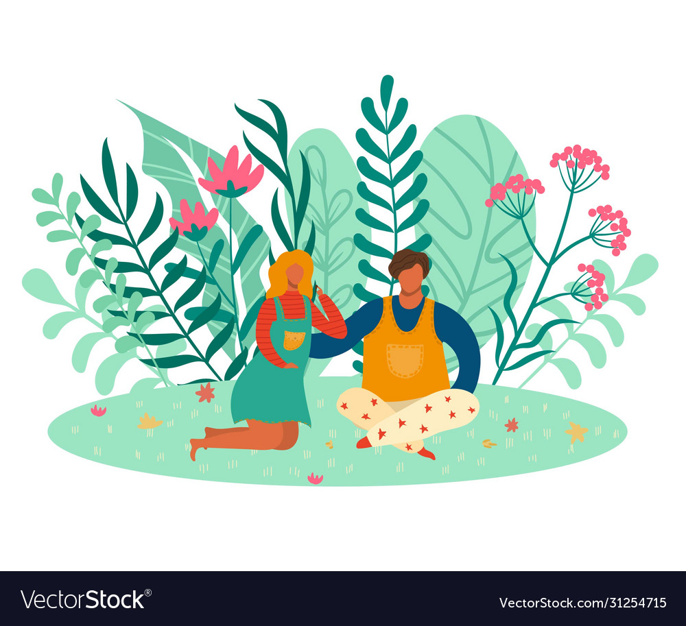 People couple woman and man in love romantic