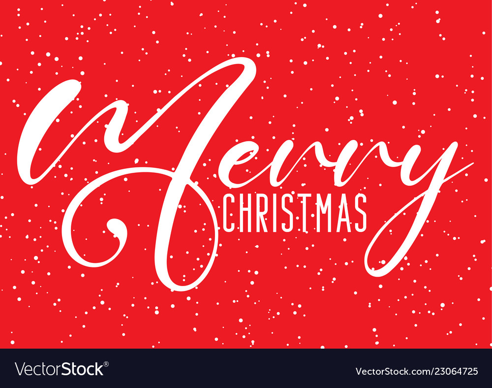 Christmas background with decorative text