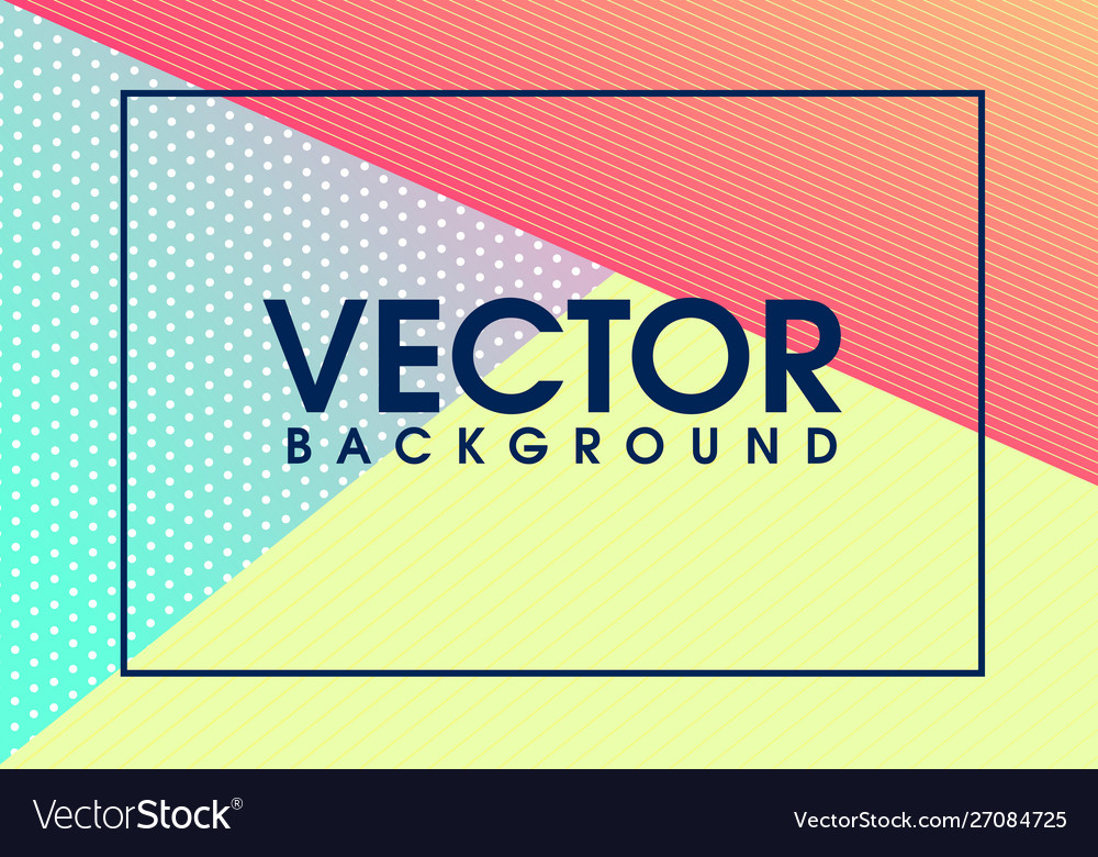 Modern colorful geometrical background