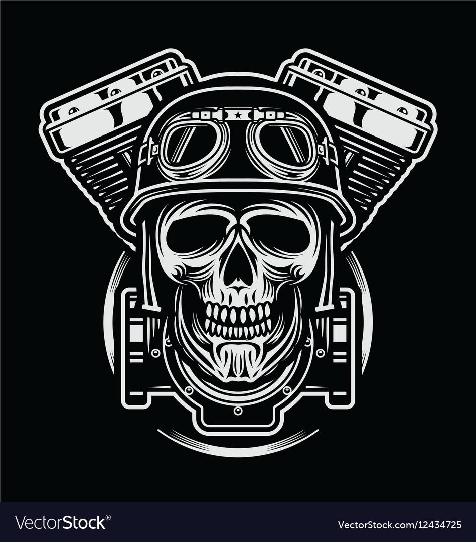 Skulls of rider emblem