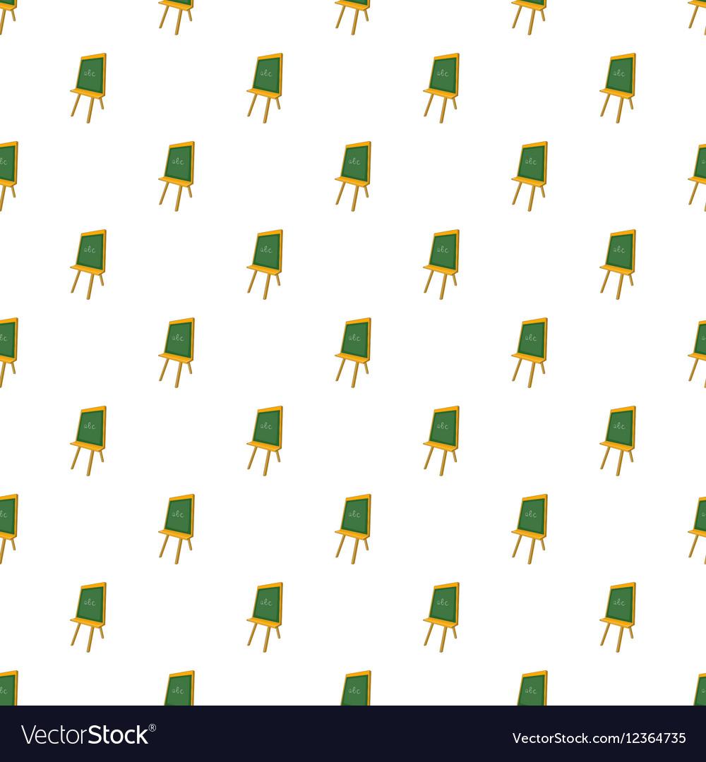 School board pattern cartoon style