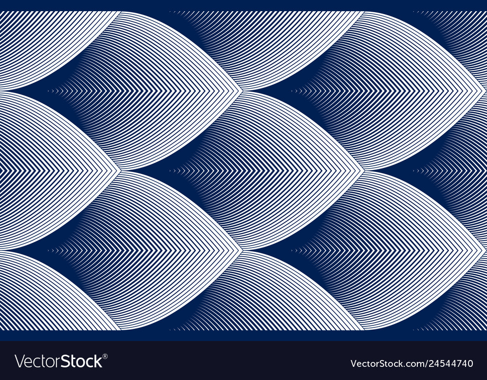 Geometric seamless pattern abstract tiling