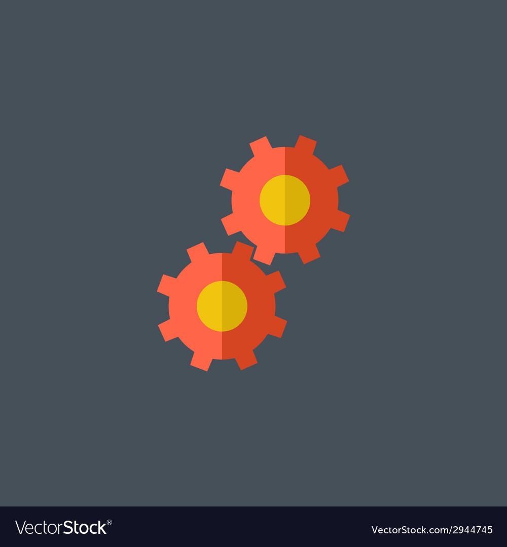 Gear Flat Icon