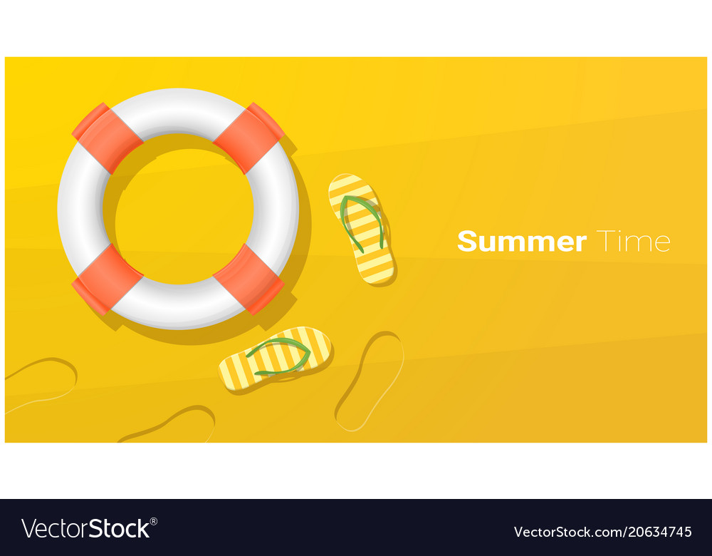Hello summer season background