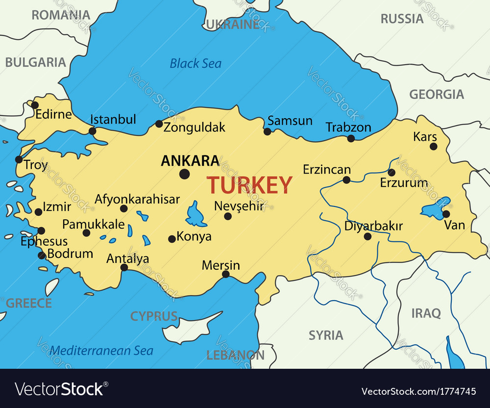 Ankara Turkey Map Turkey, Capital & Ankara Vector Images (66)