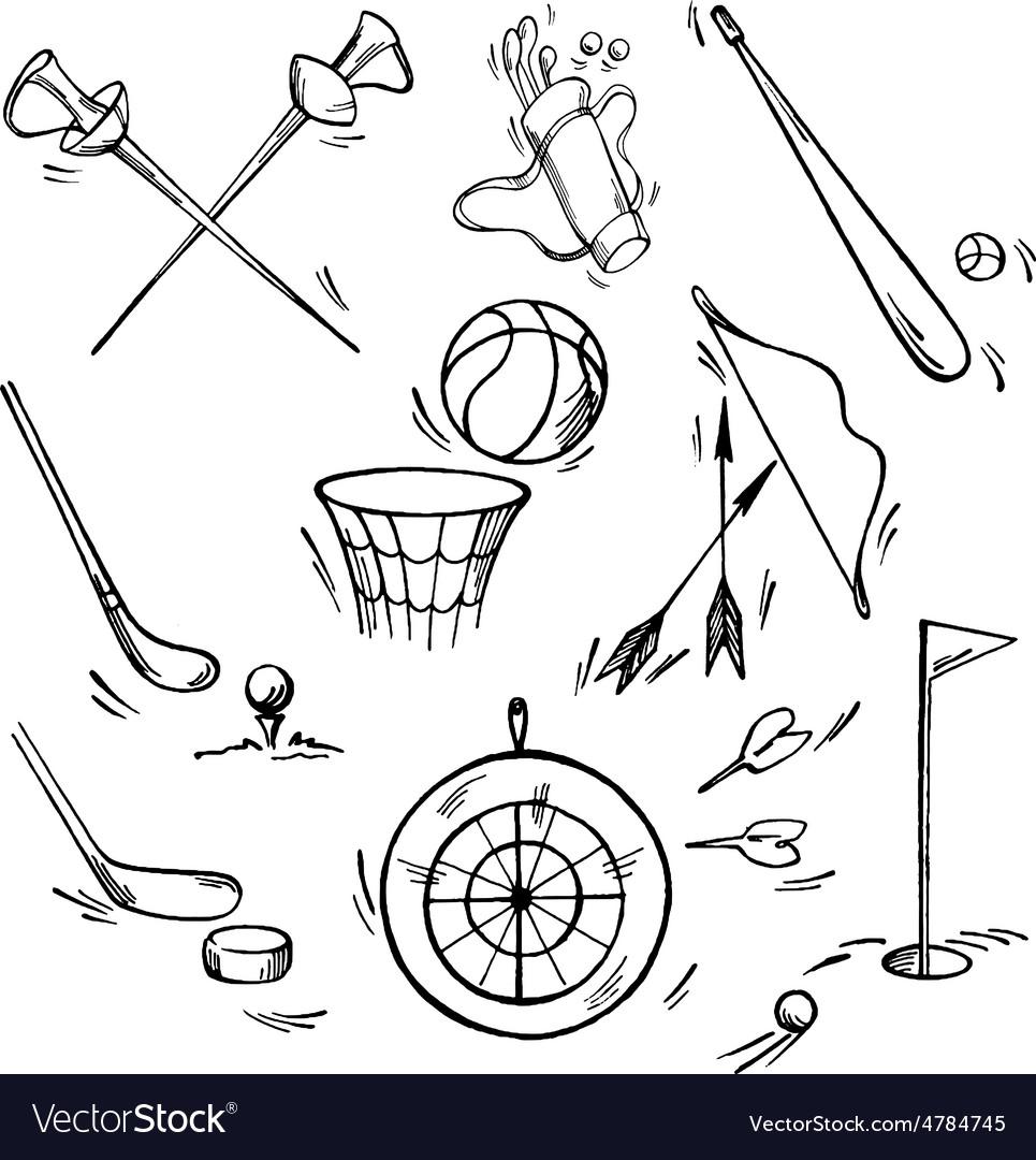 Set of sport icon