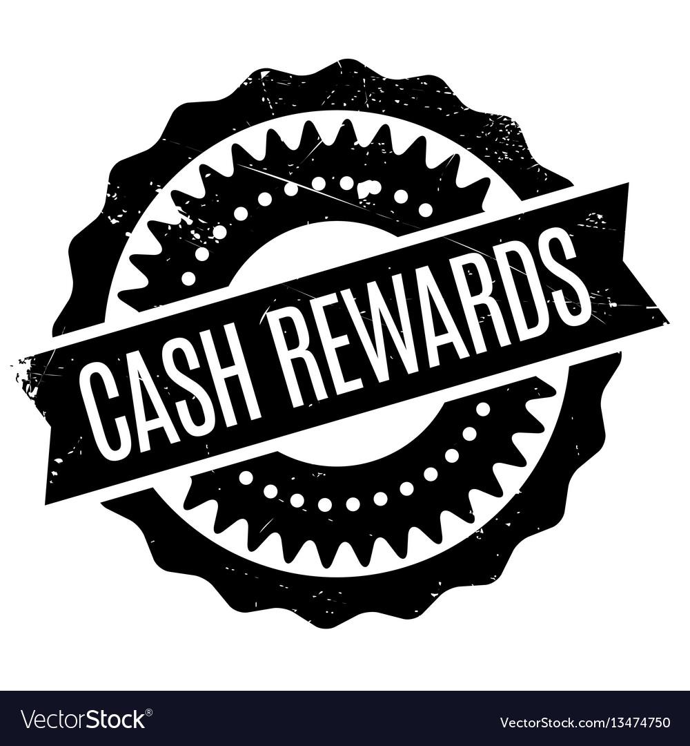 Cash rewards rubber stamp Royalty Free Vector Image