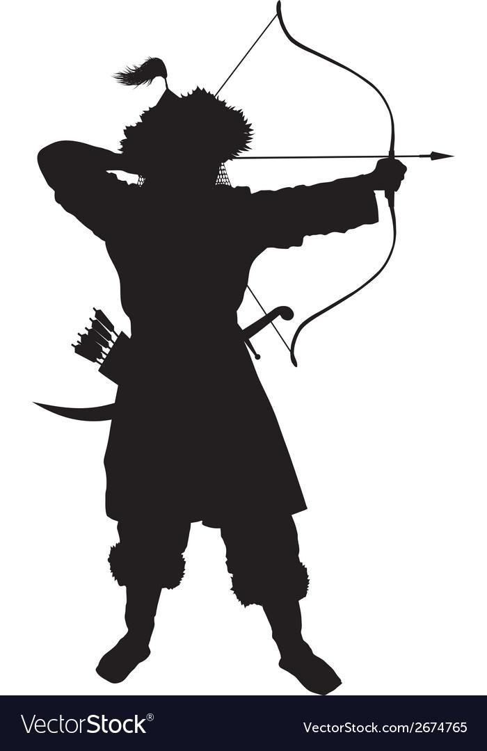 Oriental archer warriors theme